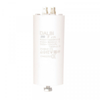Condensator Capsulat Pornire Motor 250UF 450V CBB60P250