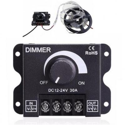 Controler Manual Variator LED Dimmer 12-24V 30A 122430