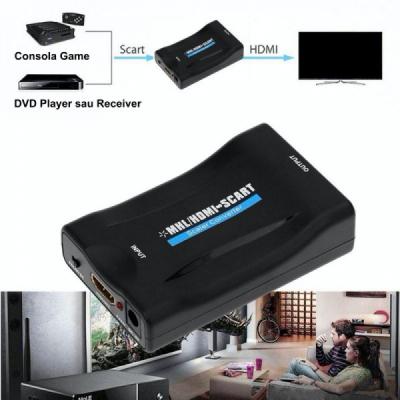 Convertor Video HDMI / MHL la SCART CONHD/MHLSC