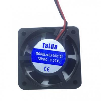 Cooler Ventilator din Plastic 12V 0.7A 40x40x10mm Taida