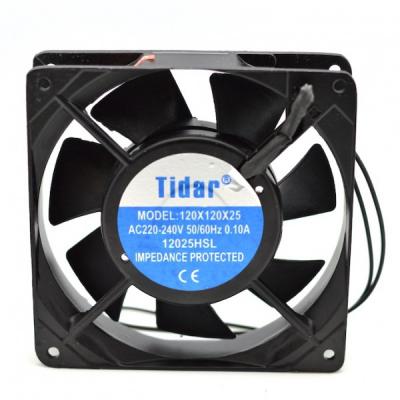 Cooler Ventilator Metalic 220V 0.10A 120x120x25mm 12025HSL Tidar