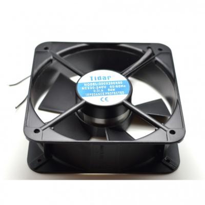 Cooler Ventilator Metalic Patrat 220V 0.31A 54W 200x200x60mm Tidar