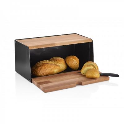 Cutie Paine din lemn si plastic 42x40x38.2cm bienWood TAB1056