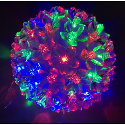 Decoratiuni Craciun Glob Luminos cu 50 LEDuri Multicolore 220V