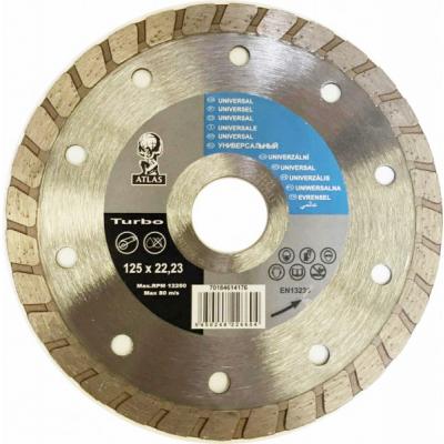 Disc debitat materiale constructie diamantat Atlas Turbo 125x22.23mm