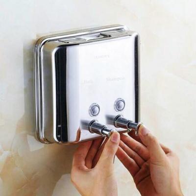 Dozator Manual Inox Sapun Lichid  si Sampon 1500ml Trendy's DZ1500A