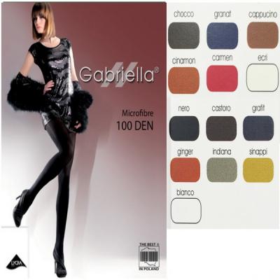 Dresuri Gabriella Microfibre100 DEN 124