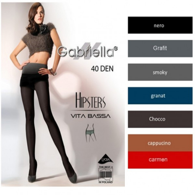 Dresuri mate Gabriella Hipsters 40DEN 115