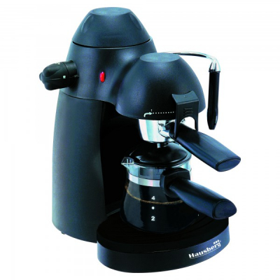 Expresor Cafea 4 cesti 650W 3.5Bari Hausberg HB3710