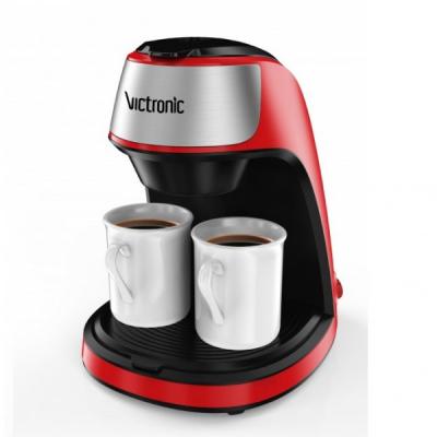 Filtru Cafea 250ml cu Doua Cesti 2x125ml 450W Victronic VC3616
