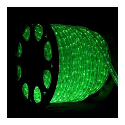 Furtun Luminos cu 3600 LED Lumina Verde 100m