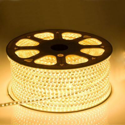 Furtun Luminos cu Banda 6000LED SMD5050 Alb Cald Rola 100m CL