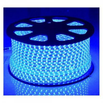 Furtun Luminos cu Banda 6000 LEDuri SMD5050 Albastre Rola 100m CL