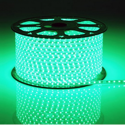 Furtun Luminos cu Banda 6000 LEDuri SMD5050 Verzi Rola 100m VR