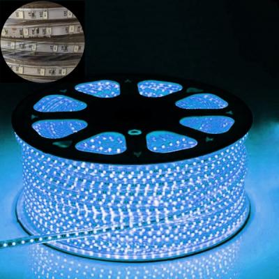 Furtun Luminos cu Banda 6000 LEDuri SMD5630 Albastre Rola 100m TKO
