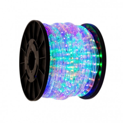 Furtun Luminos de Craciun 100m 2300LED Multicolore 3 Fire TO