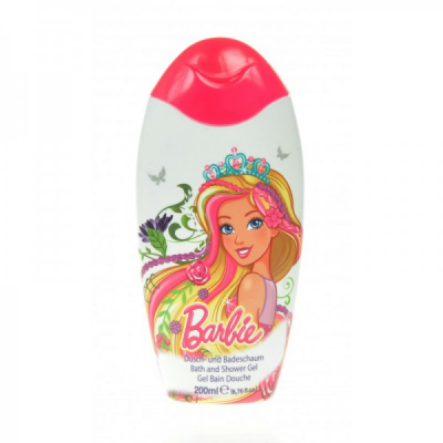 Gel de Dus pentru Copii Barbie 200ml Disney BC021730000