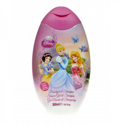 Gel de Dus si Sampon 2in1 Copii Princess 300ml Disney  BC202370001