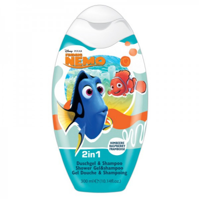 Gel Dus si Sampon 2in1 Copii Finding Nemo 300ml Disney BC205980000