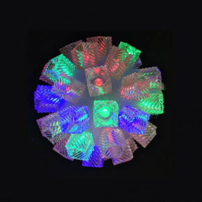 Glob Luminos de Craciun 50LED Multicolore 220V 12cm LC