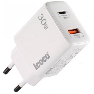 Incarcator Rapid PD Mufe Tip C si USB 3.0 30W PD30AC