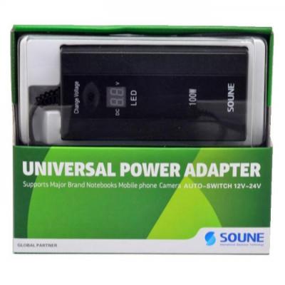 Incarcator Universal de Laptop 100W cu Afisaj LED Soune