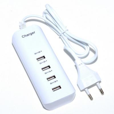 Incarcator USB Hub 4 Porturi USB 2.0 20W la priza 220V