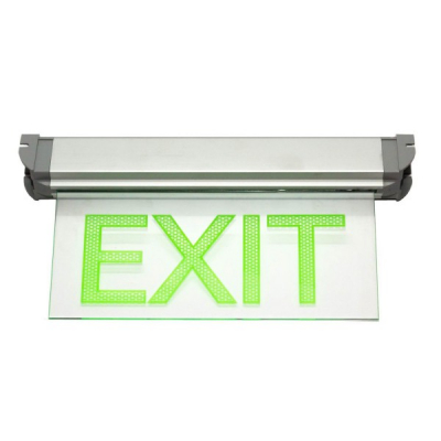 Indicator Luminos cu LED EXIT 220V cu Acumulator ATRA 3115