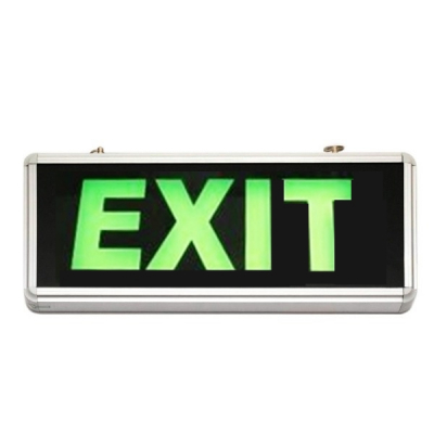 Indicator Luminos EXIT cu LED si Acumulator pentru Iesire Cladiri
