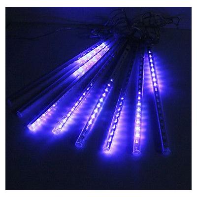 Instalatii de Craciun 72 LED 6 Turturi Interconectabili 23cm Albastru Rece