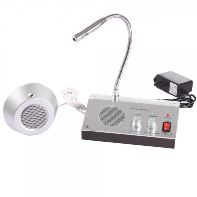Interfon Ghiseu Dual, Microfon Casierii Banca, Case Amanet 220V RL9909