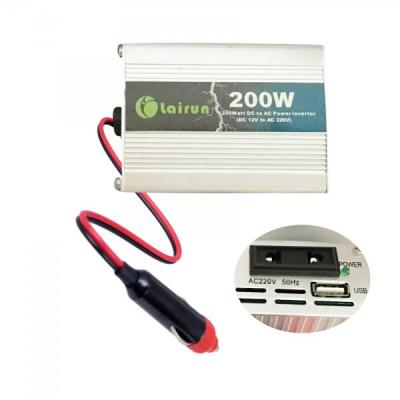 Invertor Auto 12V la 220V cu USB 200W