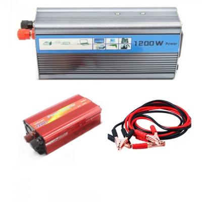 Invertor Auto 12V la 220V si USB 1200W Constant Max.735W Clesti