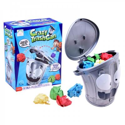 Joc Interactiv pentru Copii Crazy Trash Can 1252