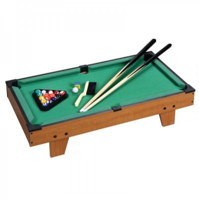 Joc Mini Biliard cu Toate Accesoriile Tabletop 69x26.5x21.5cm