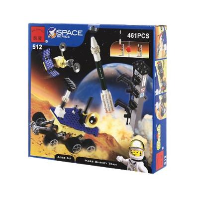 Joc tip Lego Baza Astronauti pe Marte Enlighten 512 cu 461 Piese