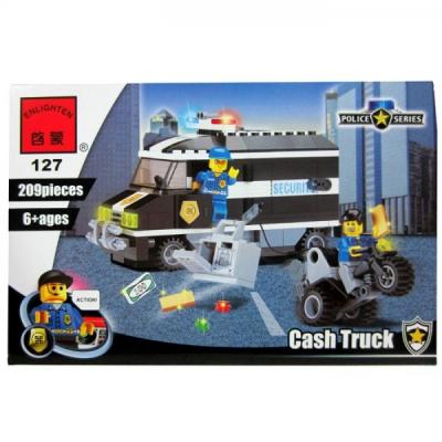 Joc tip Lego Masina Bani Enlighten 812 cu 209 Piese