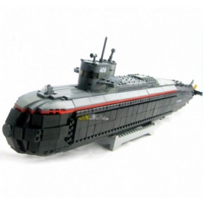 Joc tip lego Submarin 850 Piese