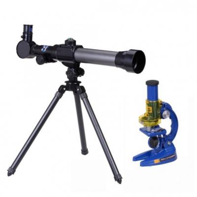 Jucarie Microscop si Telescop cu Busola C2110
