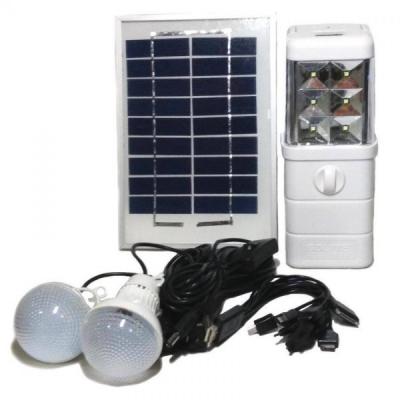 Kit de Iluminat si Alimentare cu Incarcare Solara si 220V GDLITE GD8024