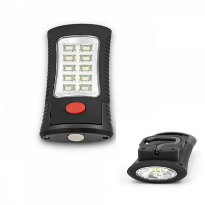 Lampa 3+10 LED SMD cu Magnet si Agatatoare 11x5.5cm