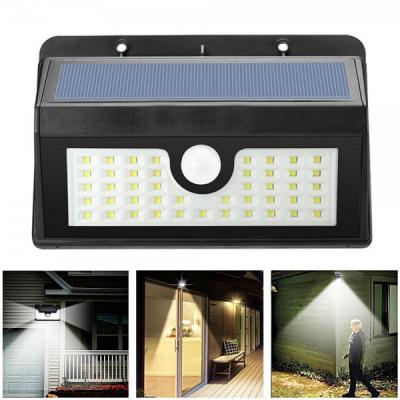 Lampa 45LED Incarcare Solara cu Senzor de Miscare si Lumina, On/Off