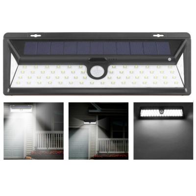 Lampa 66LED Incarcare Solara cu Senzor de Miscare si Lumina, On/Off
