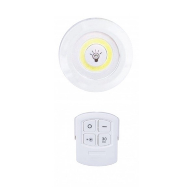 Lampa COB LED 3W pe Baterii, cu Telecomanda