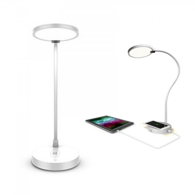 Lampa de Birou cu Incarcare Wireless pentru Telefonul Mobil Starpie