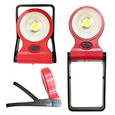 Lampa de Lucru Rotunda COB LED 3W Slot USB, Suport si Agatatoare YT852