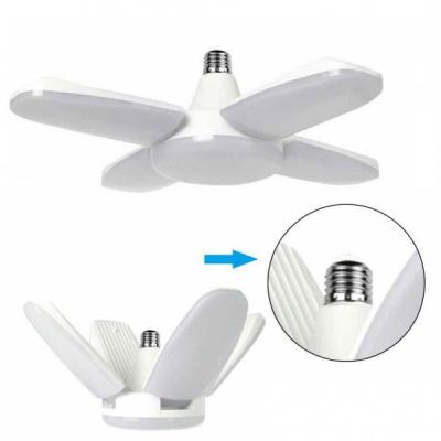 Lampa LED cu 4 Brate Mobile Ajustabile Fan Blade E27 3000K 60W