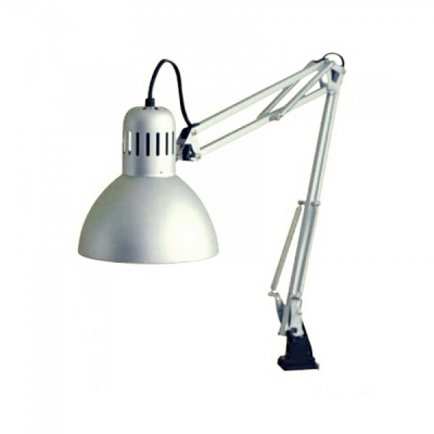 Lampa Metalica pentru Masa de Lucru Saloane Manichiura Argintie 1018C