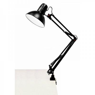 Lampa Metalica pentru Masa de Lucru Saloane Manichiura Neagra 1018B