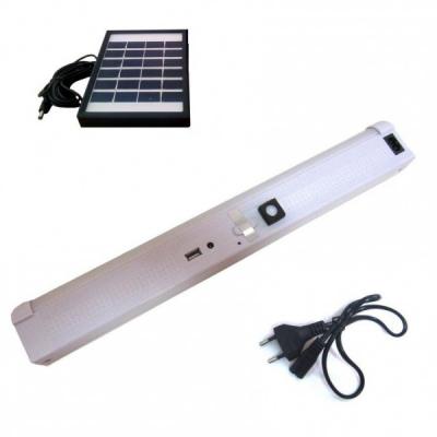 Lampa Neon cu LEDuri si Incarcare Solara GD1040S MP002WP